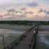 Ocean Isle Beach View from Sky Drone