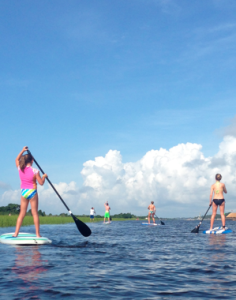 Stand Up Paddle Boarding Ocean Isle Beach