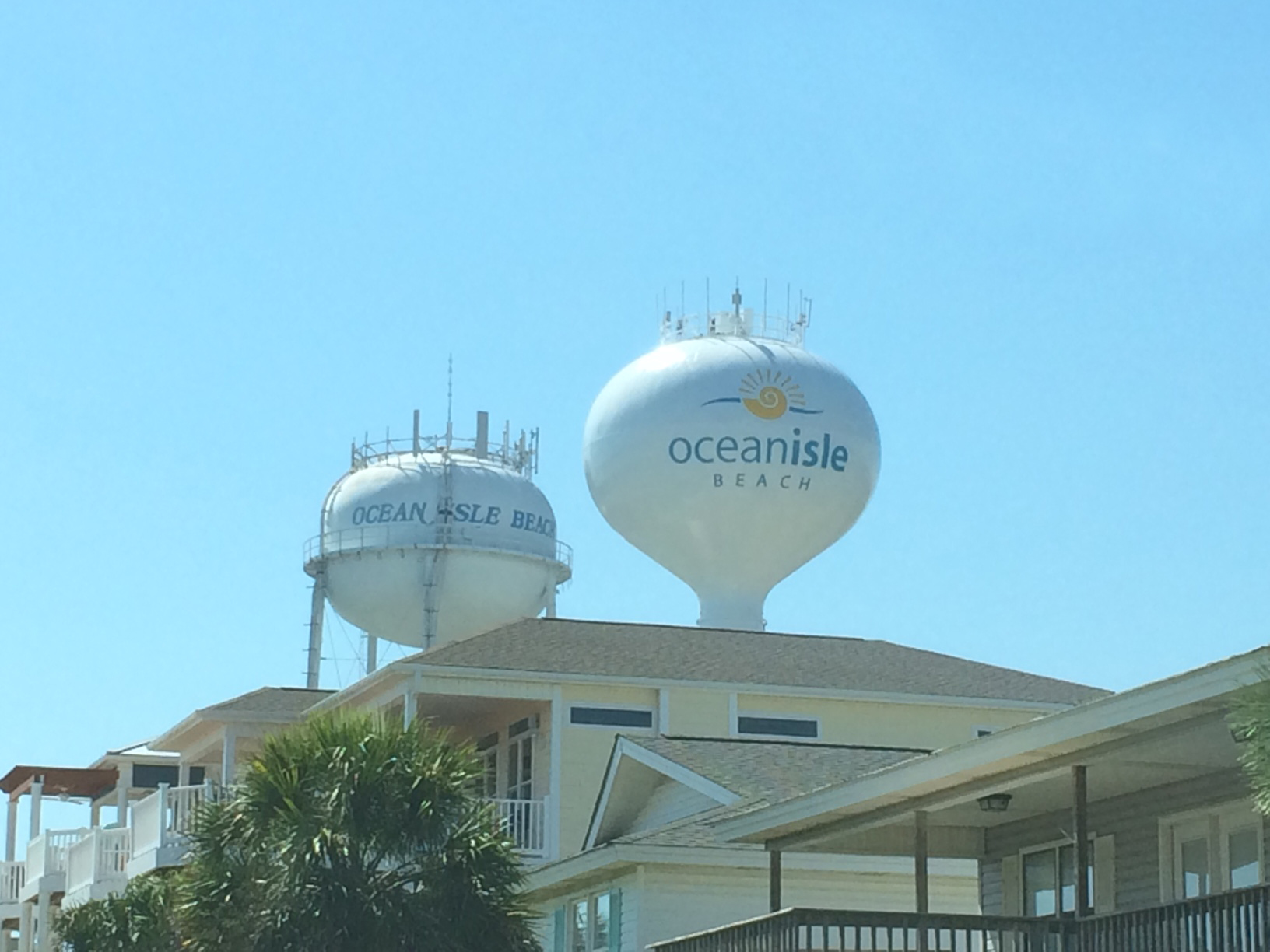 New Water Tower For Oib Ocean Isle Beach North Carolina Oceanislebeach Com