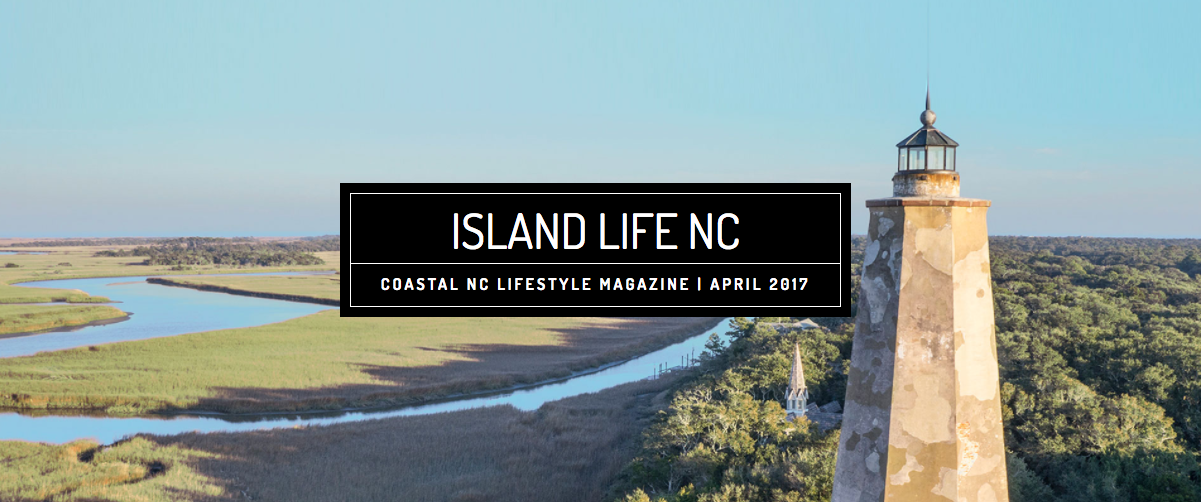 April issue of island life nc available now bald head for Nc fishing regulations 2017
