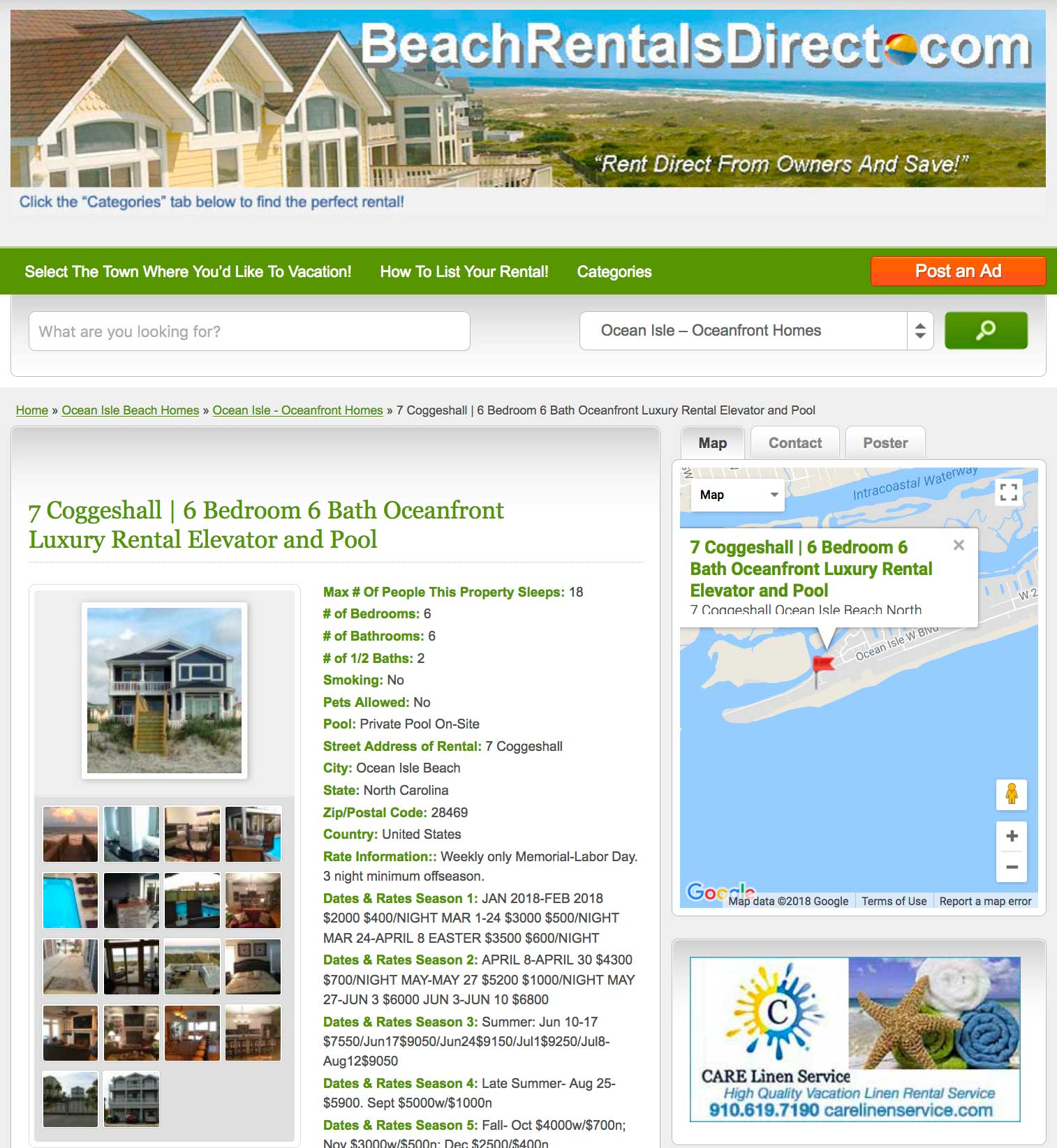 Attention sunset beach rental property owners sunsetnc 3 month listing only 9900 nvjuhfo Image collections