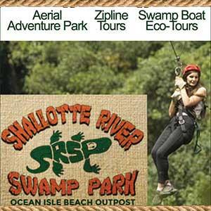 Shallotte River Swamp Park Ocean Isle Beach NC