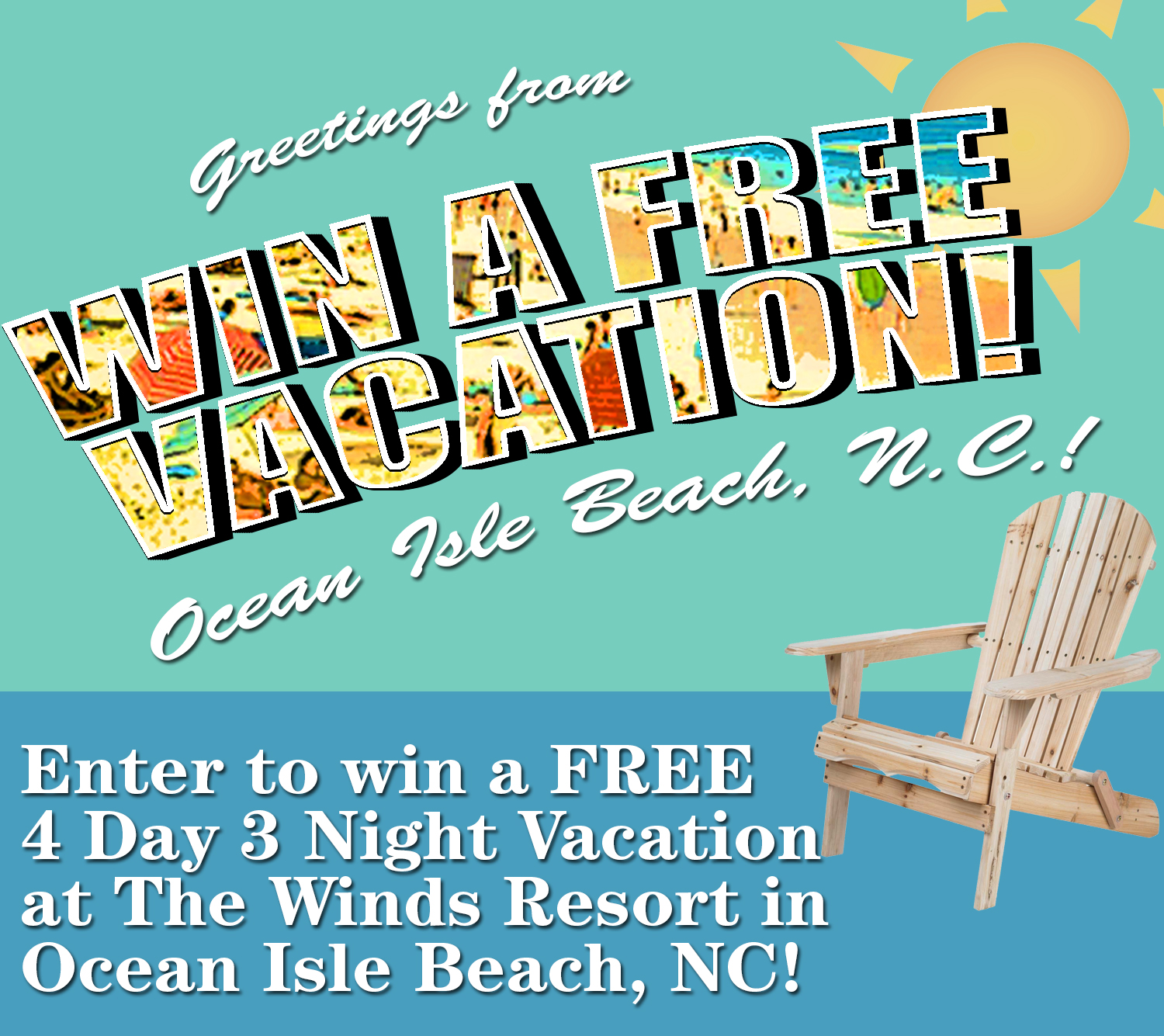 Enter To Win A Free Vacation To Ocean Isle Beach Nc Ocean Isle Beach North Carolina
