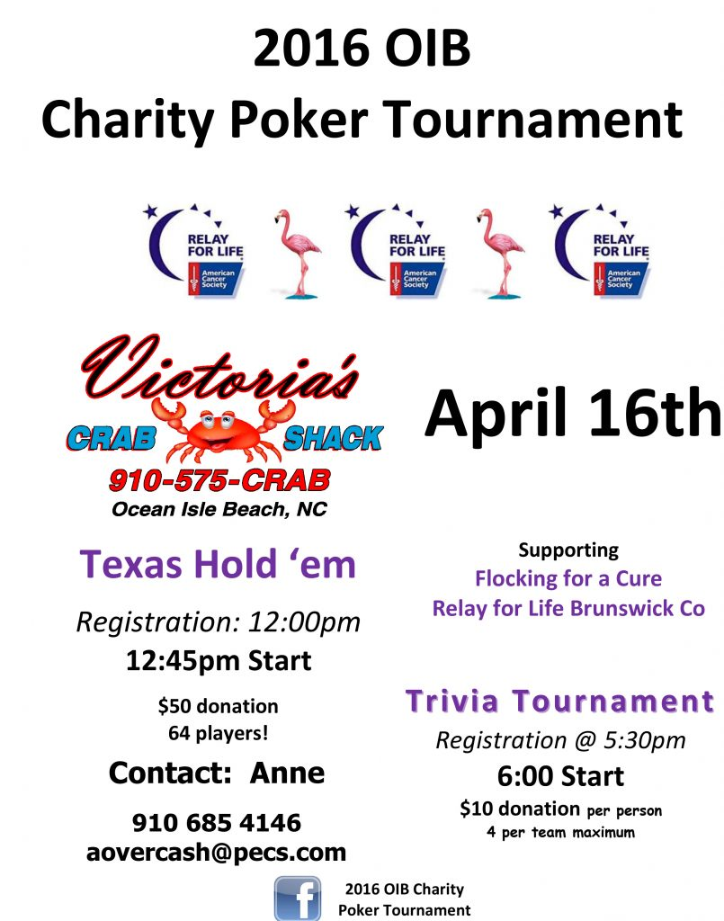 oib charity poker tournament the winds beach club. Black Bedroom Furniture Sets. Home Design Ideas
