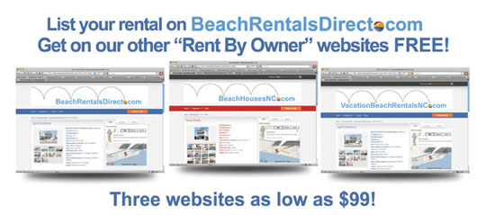 BeachRentalsDirect.com Vacation Rentals By Owner Ocean Isle Beach NC