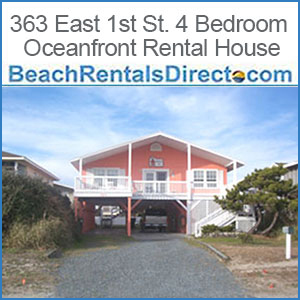 363 East 1st St. 4 Bedroom Oceanfront rental Home