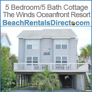 5 Bedroom/5 Bath Cottage – The Winds Oceanfront Resort