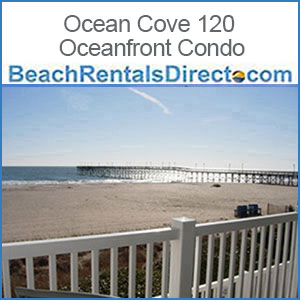 Ocean Cove 120 Oceanfront Condo