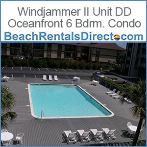 Windjammer-II-Unit-DD-Oceanfront-Ocean-Isle-Vaction Rental Condo