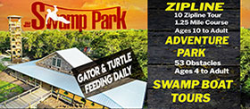 The Swamp Park Eco Adventure Zip-Line Park
