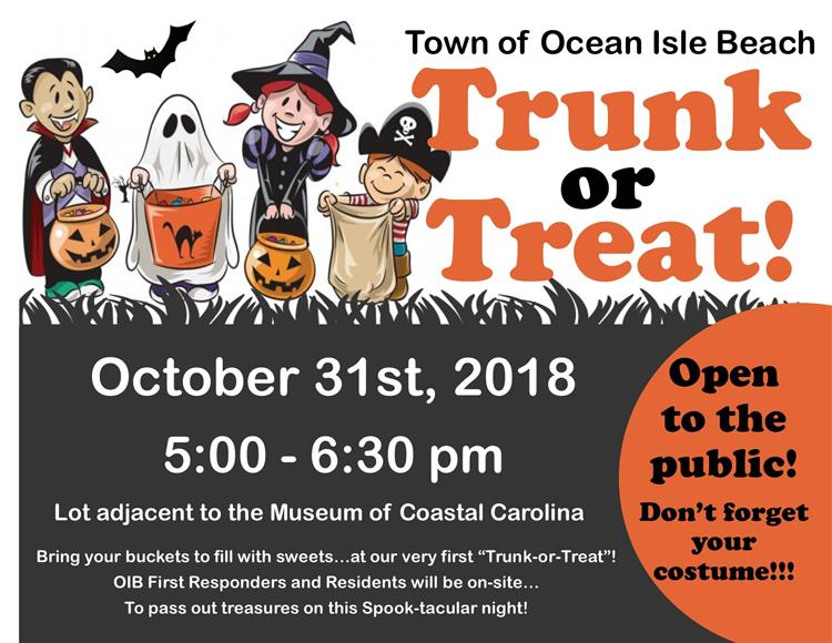 Ocean Isle Beach Trunk or Treat