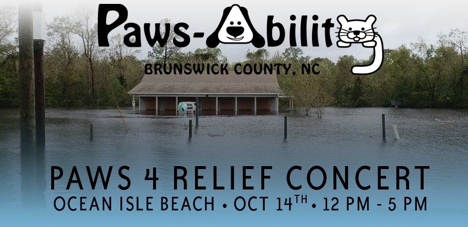 Paws Ability Paws 4 Relief Concert Ocean Isle Beach