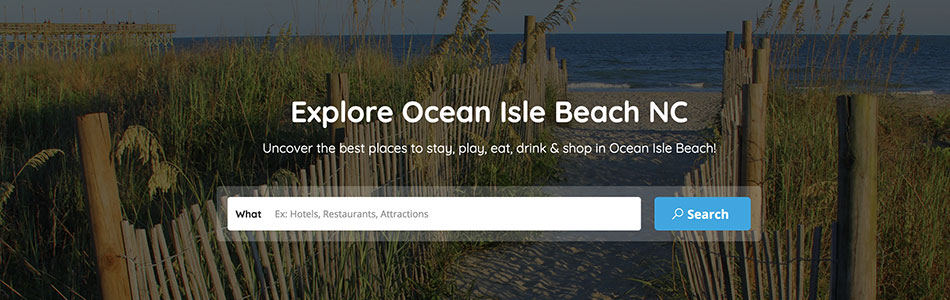 Explore Ocean Isle Beach North Carolina